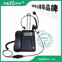 供應合鎂601呼叫中心話務電話機