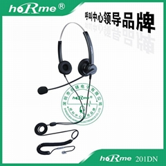 供应合镁 301 呼叫中心话务耳机