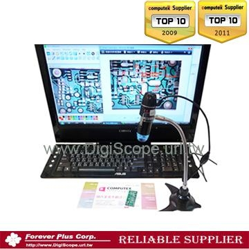 Measurement Pro USB led digital stereo Microscope with measurement software 1