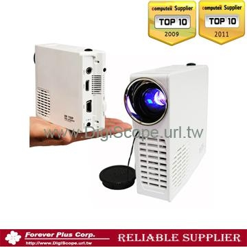 720P Mini led HD home projector for game console-140812 1