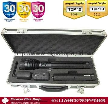 Hi-Power Rechargeable Focal Zoom LED Flashlight 2