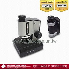 Portable 4-in-1 digital USB biological stereo school Microscope can link with PC