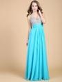 藍色透視蕾絲鑽石新娘訂婚結婚敬酒服晚