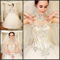 Popular Beading Ball Gown Wedding