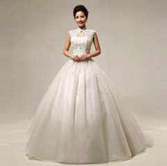 Wholesale New Wedding Dress Lace Ball Gown Wedding Dress HS299
