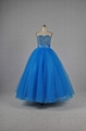 Ball Gown Sweetheart Beads Tulle