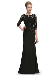 New Sexy Lace Floor Length Evening Dress Party Dress Custom Made HE09882