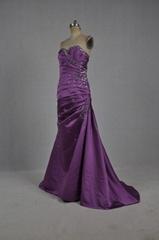 定製抹胸A型歐美款晚禮服 新娘結婚禮服 宴會禮服 E062