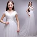 2014新款現貨公主蕾絲婚紗 新娘婚