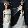 抹胸釘珠新款魚尾包臀顯瘦新娘婚紗 (熱門產品 - 2*)