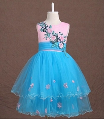 In Stock A Line Flower Girl Dress FL113