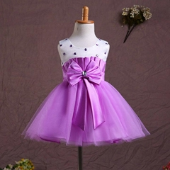 In Stock A Line Flower Girl Dress FL124