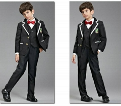 Black Boy Suits Boy Dress Tuxedo For Wedding Party HB02