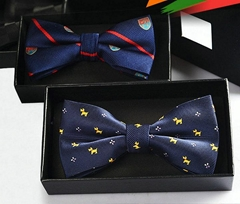 Man's Fashion Strips Bow Tie 46 Color Choices 01-46