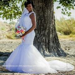 Bride Selma Real Wedding