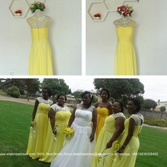 Real Wedding Show Yellow