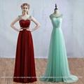 Stunning A Line Beading Evening Dress