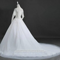 New Sleeved Off Shoulder A Line Lace Tulle Wedding Gown G226