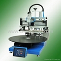 flat screen printing machine with vacuum table 3