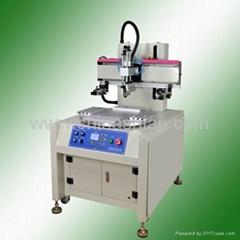 Silk Flat Screen Printer With Rotary Table