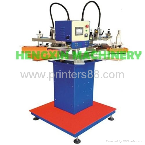 Two Color Garment Tags Screen Printing Machine 1