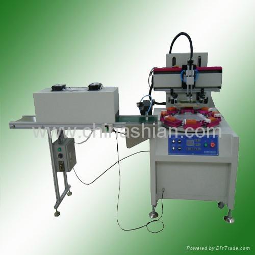 Automatic Rotary Flat Screen Printing Machine 1