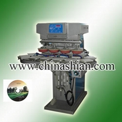 four color pad printer for CD/DVD