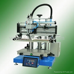 flat screen printing machine with vacuum