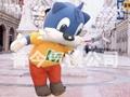 卡通气模--财神/米老鼠/卡通象/蓝猫/唐老鸭 4