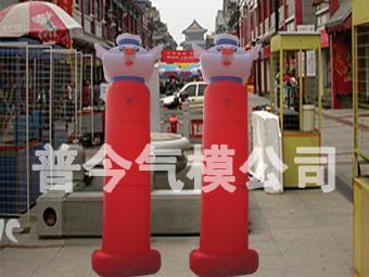 气模--摩托柱/水管柱/猪头柱/彩灯柱 3