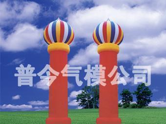 气模--摩托柱/水管柱/猪头柱/彩灯柱 4