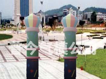气模--摩托柱/水管柱/猪头柱/彩灯柱 5
