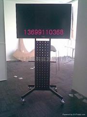 液晶电视落地移动支架批发安装显示器移动车架