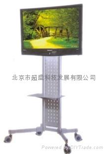 订做加工批发电视显示器支架广告机挂架吊架 3