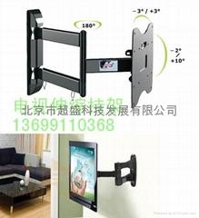 液晶電視伸縮旋轉挂架顯示器轉動架伸縮架