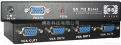 VGA集線器/VGA分配器/VGA信號分配器