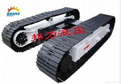 煤矿机械设备专用履带底盘
