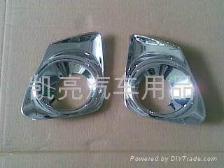 卡罗拉2011全套电镀装饰件 5