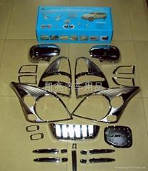 PRADO 2003 全套电镀装饰件