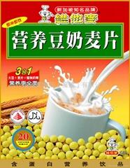 维他麦豆奶麦片
