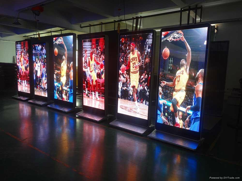 武漢LED全彩屏 P2.0立式廣告屏 1