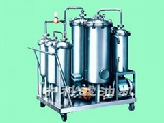 Anti-fuel oil oil filter machine