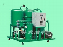 Completely automatic vacuum oil filter machine
