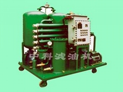 Explosion-proof oil filter machine