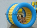 Airtight inflatable Water Roller for aquatic park games