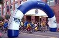 Inflatable Arch door start/ finish line for marathon / long distance running