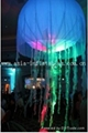 inflatable Jelly fish with LED light for night party and holiday decoration