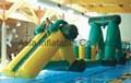 Water floating infltable combo for water park amusement games
