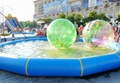 Commercial grade infaltable water ball with water pool for sale