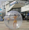 infltable transparent dancing ball for event performance